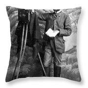 Photographer, 1900 Throw Pillow