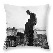 Photographer, 1907 Throw Pillow