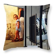 Photographer Kevin Connolly At The Kennedy Center Throw Pillow
