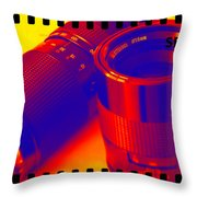 Photographic Lenses Throw Pillow