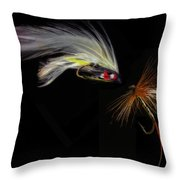 Fly Fishing In Southern Ontario Throw Pillow
