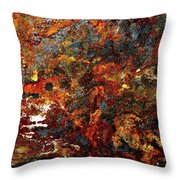 Photolithique I Throw Pillow
