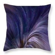 Photonic Cascade At The Sea Of Solitude Throw Pillow