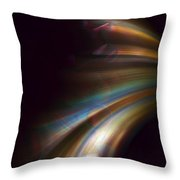 Photons From The Edge Throw Pillow