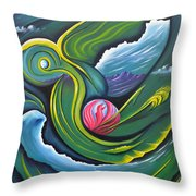 Photosynthesis Makes Me Green With Envy Throw Pillow