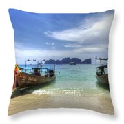 Phuket Koh Phi Phi Island Throw Pillow