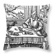 Physician, 1576 Throw Pillow