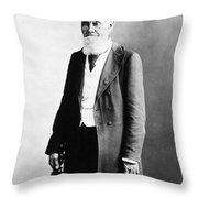 Physician, 1891 Throw Pillow