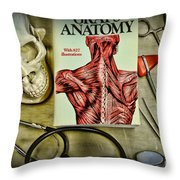 Physician - Tools Of The Trade Throw Pillow