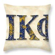 Pi Kappa Phi - Parchment Throw Pillow