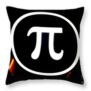 Pi Throw Pillow