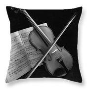 Pianissimo Throw Pillow