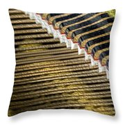 Piano Abstract 6596 Throw Pillow
