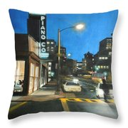 Piano Co Throw Pillow