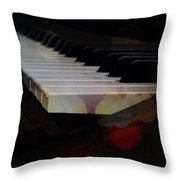 Piano Magic Throw Pillow