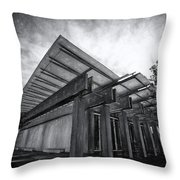 Piano Pavilion II Throw Pillow