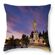 Piazzala Michelangelo Throw Pillow