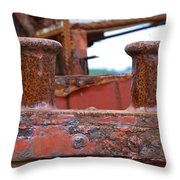 Pibroch Cleat Throw Pillow