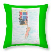 Picasso With Two Lesbians Throw Pillow
