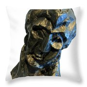 Picasso's Head Of A Woman -- Fernande Throw Pillow