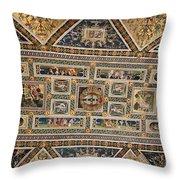Piccolomini Bibliotheca - Siena Throw Pillow