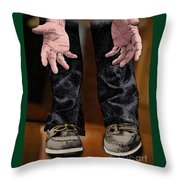 Pick Me Up Daddy Throw Pillow