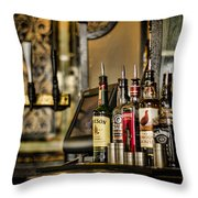 Pick Your Poison Throw Pillow by Heather Applegate