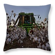Picker Comin' Throw Pillow