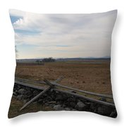 Picketts Charge The Angle Throw Pillow
