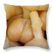 Pickled White Garlic - 1 Throw Pillow