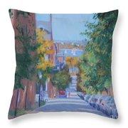 Pickney Street Fall Throw Pillow