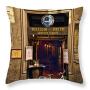Pickup Or Delivery Throw Pillow