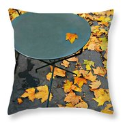 Picnic Bunch Throw Pillow by Diana Angstadt
