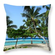 Picnic Here Throw Pillow