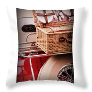 Picnic Ready Throw Pillow
