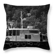 Picton Boating Throw Pillow