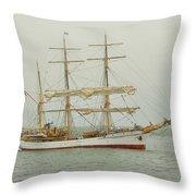Picton Castle Starboard Throw Pillow