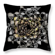 Pictorial Confusion And Diffusion Throw Pillow