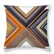 Picture Frame Art Throw Pillow