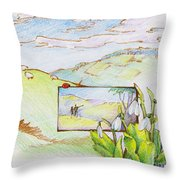 Picture In Picture Throw Pillow