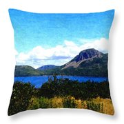 Picture Perfect In Painterly Style Throw Pillow