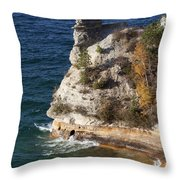 Pictured Rocks National Lakeshore 2 Throw Pillow