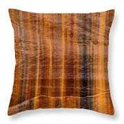 Pictured Rocks Vibrant Layers Throw Pillow