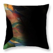 Pictures In My Mind Throw Pillow
