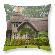Picturesque Cottage Throw Pillow