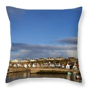 Picturesque Findochty Throw Pillow