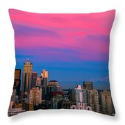Picturesque Seattle Throw Pillow
