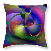 Pie In The Sky Throw Pillow by Jimi Bush