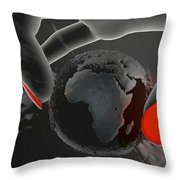 Piece Of Earth Throw Pillow