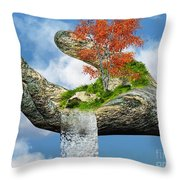 Piece Of Nature Throw Pillow